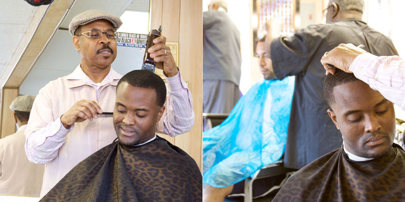 BARBERS TEACH US LIFE LESSONS.